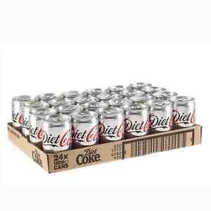 Diet Coke 150ml Mini Can 24 Pack