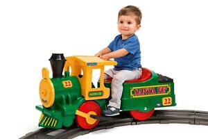NEW Peg Perego Santa Fe Train Battery Powered Riding Toy