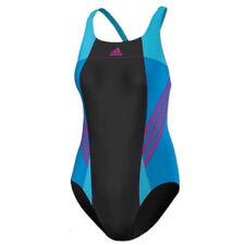adidas Damen Infinitex Badeanzug Inspiration Suit Einteiler schwarz vivid pink