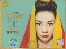 Faye Wong 王菲  菲常传奇 + Greatest Hits  2 CD 32 Songs Black Rubber Disc High Quality