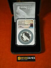 2016 $1 AUSTRALIA SILVER WEDGE TAILED EAGLE NGC NGC PF69 HIGH RELIEF MERCANTI