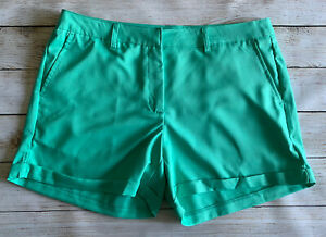 Lillie Green Performance Shorts Teal Size 8