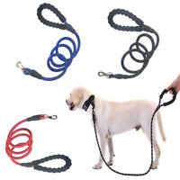 Dog Leash 5 FT Rope Training Padded Handle Reflective Nylon Puppy