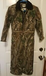 Walls Youth RealTree Hardwoods Boy's Camo Insulated Coveralls  size 10