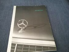 1992 Mercedes-Benz Full-Line Fold Out Brochure