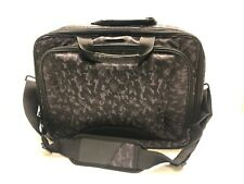 Notebook Carrying Case Alienware Messenger Laptop Travel Bag Black & Grey USED!!
