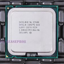 Intel Core 2 Duo E7400 SLB9Y CPU Processor 1066 MHz 2.8 GHz LGA 775/Socket T