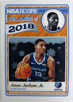 2018 Panini NBA Hoops Class of Winter Jaren Jackson Jr Rookie RC #4, Grizzlies