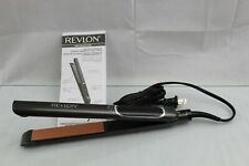 "Revlon Pro Collection Salon Straight Copper Smooth Flat Iron 1"" CF37"