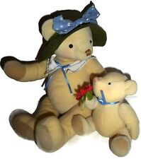 Hallmark Mother & Baby Bear Attached Annabelle And Breezy Set Plush