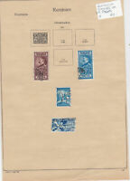 Romania Stamps on 2 Pages Ref: R6857