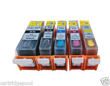 Refillable ink cartridges for Canon PGI-225 CLI-226 PIXMA MG5120 MG5220 MG5320