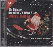 THE ULTIMATE CHRISTMAS PARTY ALBUM - THE SESSION SINGERS & DJ SANTA - 2 CD's NEW