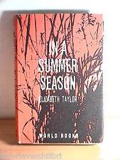IN A SUMMER SEASON Elizabeth Taylor The Reprint Society London 1962 Inglese di