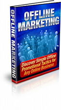 Discover Simple Offline Tactics For Any Online Business - OFFLINE MARKETING (CD)