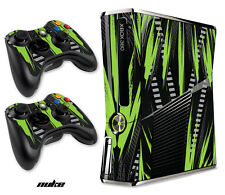 Skin Decal Wrap for Xbox 360 Slim Gaming Console & Controller Xbox360 Slim NUKE