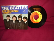 Beatles Yesterday / Act Naturally CAP 5498 Vinyl 45