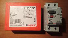 Legrand 411555 - Interrupteur Différentiel 40A 30Ma 2P - Type A - Vis/vis