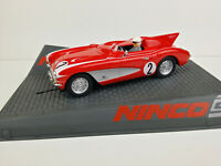 Slot car Scalextric Ninco 50584 Corvette Speed Recor Red #2
