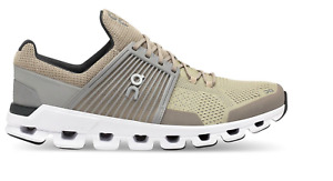 New! MEN'S ON CLOUDSWIFT Sand - Grey Running Shoes r1