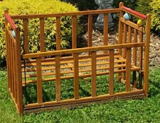Vintage Baby Doll Crib Drop Rail Wood