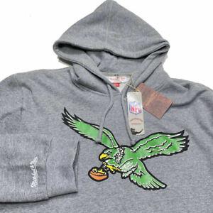 Philadelphia Eagles Mitchell & Ness Hoodie Sweatshirt 3XL NFL Throwback Retro