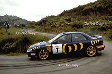 Colin McRae SUBARU IMPREZA 555 TOUR DE CORSE RALLY 1994 Fotografia