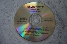 cd promo DAVID BOWIE RARE!!! HEATHEN/ 12 TITRES