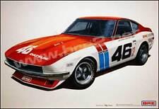 "BRE Datsun 240z Art Print (19""x13"") sold by Peter Brock BRE!"