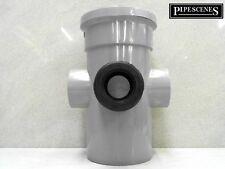 """110mm 4"""" BOSS lungo tubo di gomma 40mm 43mm Adattatore Tubo Di Scarico Grigio"""