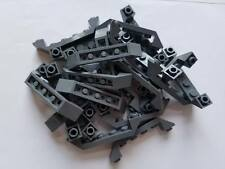 LEGO Dark Bluish Gray Slope Inverted 45 4x1 Double Lot of 50 Parts Pieces 32802