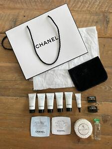 NEW Chanel Beauty Skincare Deluxe Samples Designer Plus Bvlgari