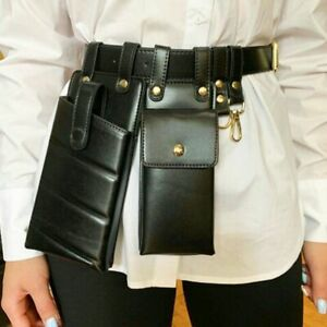 Waist Pack Leather Luxury Belt Bag Crossbody Casual Chest Purse Phone Case Pouch