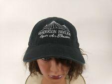 HENDERSON PAVILION Open Air Theater Black Basebal Cap Hat Flexfit