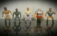 Vintage He-Man The Masters Of The Universe Action Figure Bundle MOTU Mattel Rare