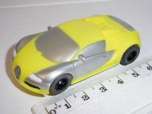 12V MICRO Scalextric - Bugatti Veyron Yellow - Mint Cdn.