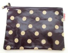 Cath Kidston coated canvas zip Make-Up Cosmetic bag polka dot