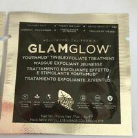 LOT OF 5 X Glamglow Youthmud Tinglexfoliate Treatment Sample 5 packs ~