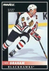 #173 Dirk Graham - Chicago Blackhawks - 1992-93 Pinnacle Canadian Hockey