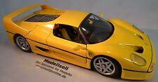 FERRARI F50 1995 solide haut de MAISTO à l'échelle 1:18 Maquette de voiture