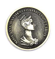 Maria Anna Augusta Ferdinandi Medal Coronation 46mm