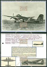 Junkers Ju-188 1:144 Atlas WW2 Flugzeug MODEL AIRCRAFT PLANE B106