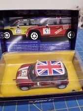 "Scalextric C2484A Mini Cooper ""John Cooper Challenge"" No. 5   1/32 Slot Car"