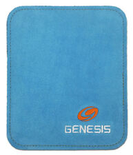 New Blue Color Genesis Buffalo Pure Leather Bowling Ball Cleaning Pad/Shammy