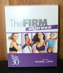 The Firm Express GET THIN IN 30 DAYS Exercise Weight Loss (13) DVD Set