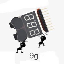 Checker 2in1 Tester Lipo Battery Low Voltage Alarm Sound Low Voltage Buzzer