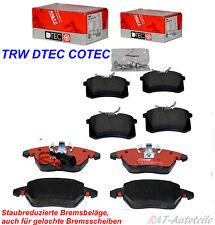 TRW DTEC Brembeläge KIT SET Vorne+Hinten für 312mm 253mm B.S. AUDI VW SEAT SKODA