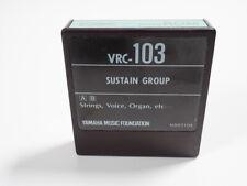 YAMAHA  DX7 VOICE ROM  VRC-103 SUSTAIN GROUP