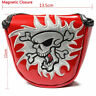 Skull Head Golf Mallet Putter Cover for Scotty Cameron Odyssey Taylormade Mizuno