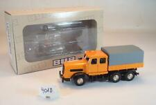 BUB Premium Classixxs 1/87 Kaelble KDV Z8T Schwerlast kommunal orange OVP #4010